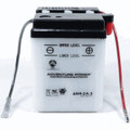 6N4-2A-3 6 Volt 4 Amp Hrs Conventional Power Sport Battery
