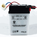 6N4C-1B 6 Volt 4 Amp Hrs Conventional Power Sport Battery