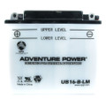 YB16-B-CX 12 Volt 19 Amp Hrs Conventional Power Sport Battery