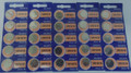 Sony Murata CR1616 3V Lithium Coin Battery - 25 Pack + FREE SHIPPING!