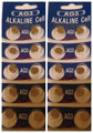 AG3 / LR41 Alkaline Button Watch Battery 1.5V - 20 Pack - FREE SHIPPING