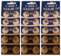 AG3 / LR41 Alkaline Button Watch Battery 1.5V - 30 Pack - FREE SHIPPING