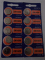 Sony CR1620 3V Lithium Coin Battery - 10 Pack + FREE SHIPPING!