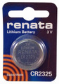 Renata CR2325 3V Lithium Coin Battery 25 Pack + FREE SHIPPING!