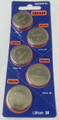 Sony Murata CR2430 3V Lithium Coin Battery - 5 Pack + FREE SHIPPING
