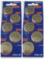 Sony CR2430 3V Lithium Coin Battery - 10 Pack + FREE SHIPPING