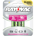 Rayovac Pre-Charged 750 mAh NiMH AAA 4-pack + FREE SHIPPING!