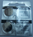 Energizer CR1616 3V Lithium Coin Battery 2 Pack + FREE SHIPPING