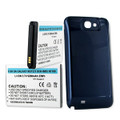 SAMSUNG GALAXY NOTE II 6.2Ah LI-ION EXTENDED BATTERY / NFC COVER + FREE SHIPPING