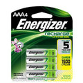 Energizer AAA Rechargeable NiMH Batteries - 8 Pack- Retail + Free Shipping