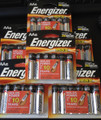 72 - Energizer MAX AA E91 1.5V Alkaline Batteries - 18 Retail Cards of 4 + Free Shipping