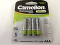 Camelion Economical Energy AAA Rechargeable NiCD Batteries 300mAh 8 Pack Retail + FREE SHIPPING!