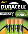 Duracell AA Rechargeable NiMH Batteries 1950mAH 8 Pack Retail + FREE SHIPPING!