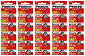 Panasonic CR1616 3V Lithium Coin Battery - 100 Pack + FREE SHIPPING!