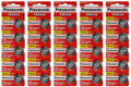 Panasonic CR2032 3V Lithium Coin Battery - 50 Pack + FREE SHIPPING!