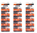 Maxell LR41 - 192 Alkaline Button Battery 1.5V - 30 Pack + FREE SHIPPING!