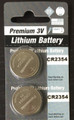 Panasonic CR2354 3V Lithium Coin Battery - 2 Pack +FREE SHIPPING!