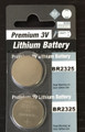 Panasonic BR2325 3V Lithium Coin Battery - 2 Pack + FREE SHIPPING!
