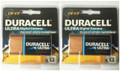Duracell Ultra CR-V3 3V Photo Lithium Digital Camera Battery 5HXG5 - 2 Pack  + FREE SHIPPING