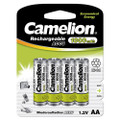 Camelion AA Rechargeable NiCD Batteries 1000mAH 4 Pack  + FREE SHIPPING!