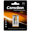 Camelion 9V Ni-MH Rechargeable Batteries 250mAh - 2 Pack  + FREE SHIPPING!