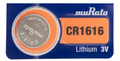 Sony Murata CR1616 3V Lithium Coin Battery - 2 Pack + FREE SHIPPING!
