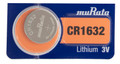 Sony Murata CR1632 3V Lithium Coin Battery - 2 Pack + FREE SHIPPING!