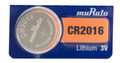 Sony Murata CR2016 3V Lithium Coin Battery - 2 Pack + FREE SHIPPING!
