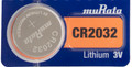 Sony Murata CR2032 3V Lithium Coin Battery - 1 Pack + FREE SHIPPING!