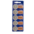 Sony Murata CR2032 3V Lithium Coin Battery - 5 Pack + FREE SHIPPING!