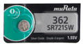 Sony Murata 362 - SR721SW Silver Oxide Button Cell Battery 1.55V - 1 Pack + FREE SHIPPING!