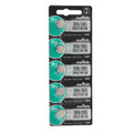 Sony Murata 399/395 - SR927 Silver Oxide Button Cell Battery 1.55V - 5 Pack + FREE SHIPPING!
