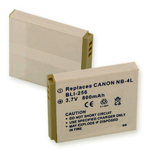 CANON NB-4L LI-ION 800mAh Digital Battery