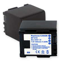 CANON BP-819 7.4V 1600MAH Video Battery
