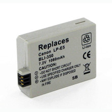 CANON LP-E5 LI-ION 7.2V 1080mAh Video Battery