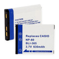CASIO NP-80 LI-ION 630mAh Video Battery