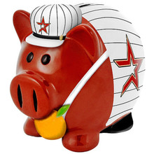 Forever Collectibles Small Thematic Piggy Bank - Houston Astros