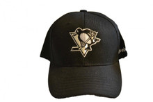 Pittsburgh Penguins NHL Black Reebok Cap