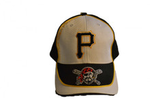 Pittsburgh Pirates MLB White T.E.I Baseball Cap