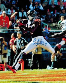Alshon Jeffery Signed Chicago Bears 1st NFL TD vs Colts 8x10 Photo