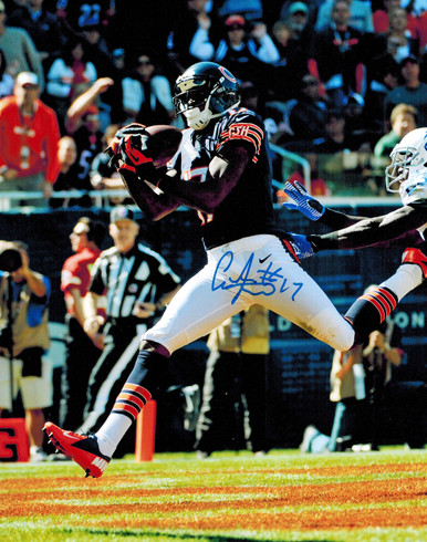 Alshon Jeffery Signed Chicago Bears 1st NFL TD vs Colts 8x10 Photo