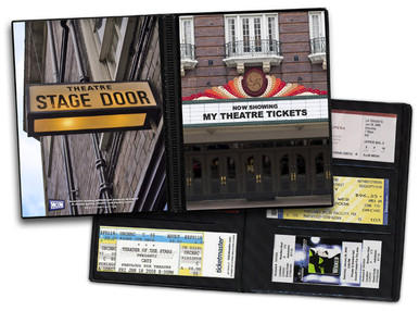 Ticket Album Theater Theme (Holds 96 Tickets)