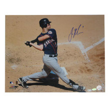 Autographed Joe Mauer 16-By-20-Inch Unframed Photo (MLB Authenticated)