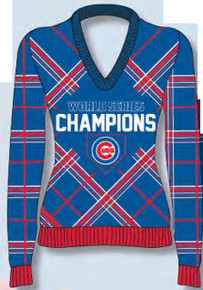 Chicago Cubs 2016 WS Champs Women's Ugly Sweater