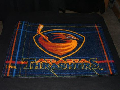 Atlanta Thrashers Rug