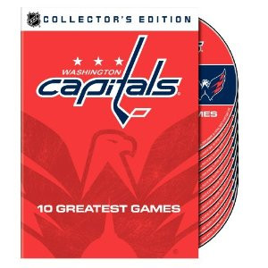 Washington Capitals 10 Greatest Games DVD