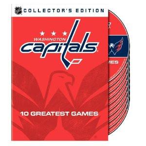 Washington Capitals 10 Greatest Games DVD