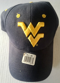 West Virginia Moutaineers NCAA Headmaster Campuswear  Cap