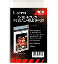 Ultra Pro Resealable One-Touch Bag (100Ct/Pk)