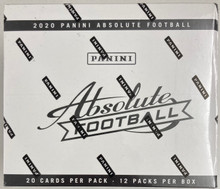 2020 Panini Absolute Football Fat Packs sealed box 12 packs of 20 NFL cards